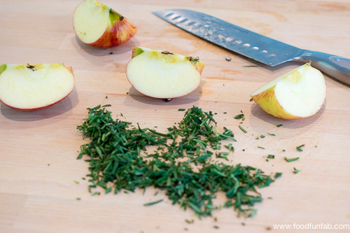Hash Browns with Apples