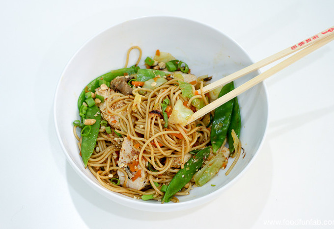 Almost Chicken Lo Mein Recipe